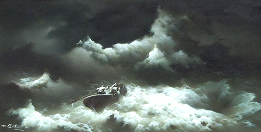 Bildergebnis für jesus saviour in the storm images
